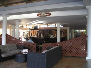 The Bar inside the resort itself