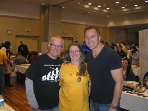 Gary Jones, me & Mike Dopud