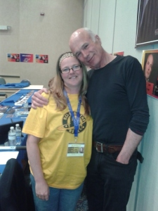 Me and Michael Hogan